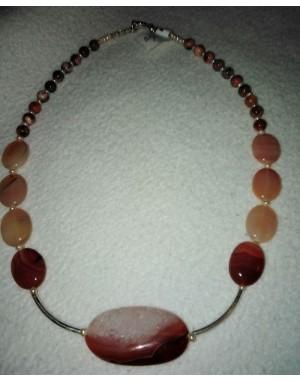 Boucles d'oreilles perles baroques roses